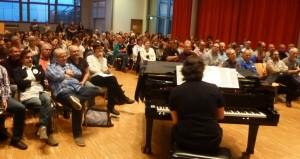 CVT-Workshop mit Martin Carbow und Lindsay Lewis in Rutesheim