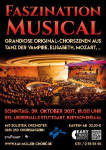 Musicalgala der Kai Müller Chöre @ KKL Stuttgart, Beethovensaal