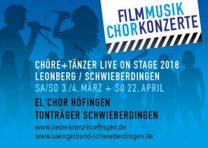Filmmusik Chorkonzert @ Stadthalle Leonberg