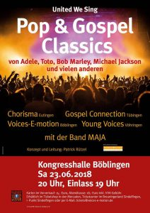 United We Sing - Pop & Gospel Classics @ Kongresshalle Böblingen