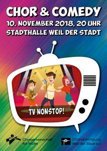 Chor & Comedy bei der CV Weil der Stadt @ Stadthalle Weil der Stadt
