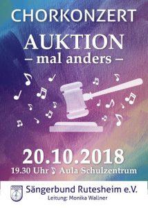 Konzert des Sängerbundes Rutesheim @ Aula Schulzentrum Rutesheim