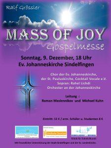 "Gospelmesse ""Mass of Joy"" @ Ev. Johanneskirche Sindelfingen"