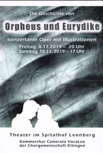 Orpheus und Eurydike in Leonberg @ Theater im Spitalhof