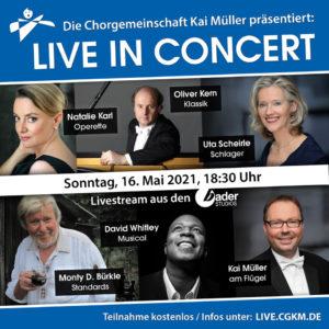 Live in Concert online (CG Kai Müller) @ Zoom